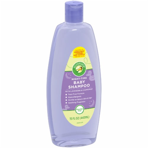 Comforts® Night-Time Baby Shampoo With Lavender & Chamomile Perspective: left