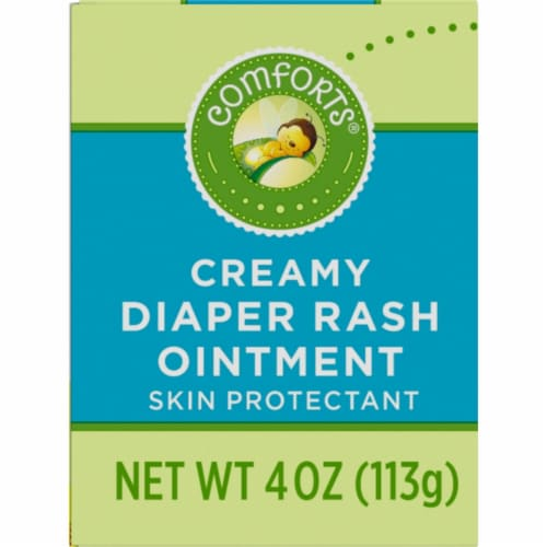 Comforts™ Creamy Diaper Rash Ointment Perspective: left
