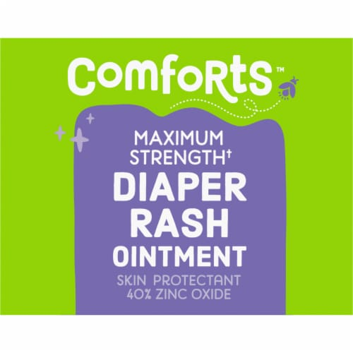 Comforts™ Maximum Strength Diaper Rash Ointment Perspective: left