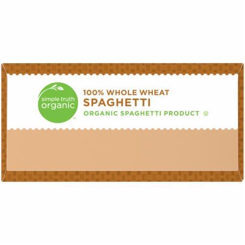 Simple Truth Organic™ 100% Whole Wheat Spaghetti Pasta Perspective: left