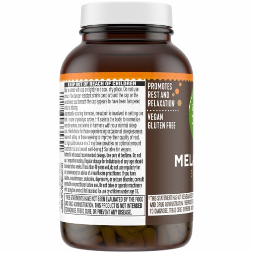 Simple Truth™ Melatonin Capsules 3mg Perspective: left