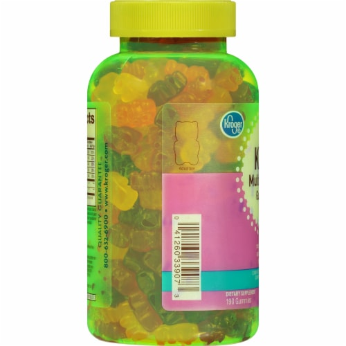 Kroger® Kids' Multivitamin Gummies Perspective: left