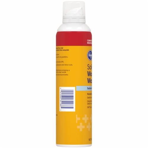 Kroger® Sterile Saline Wound Wash Perspective: left
