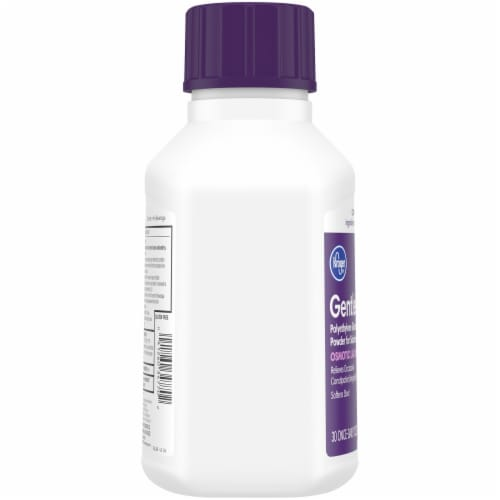 Kroger® GentleLAX® Osmotic Laxative Powder Bottle Perspective: left