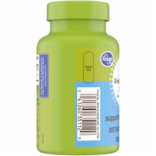 Kroger® Ginkgo Biloba 120 mg Mind Health Capsules Perspective: left