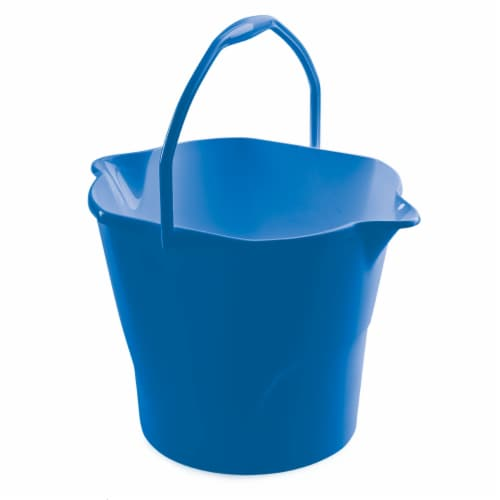 Kroger® All-Purpose Bucket - Blue Perspective: left