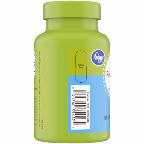 Kroger® Red Yeast Rice Capsules 1200mg Perspective: left