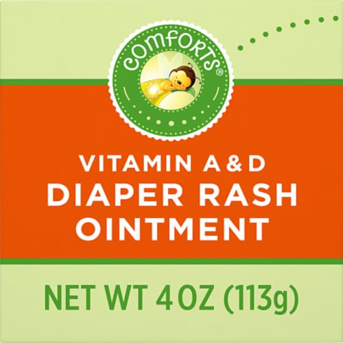 Comforts™ Vitamin A & D Diaper Rash Ointment Perspective: left
