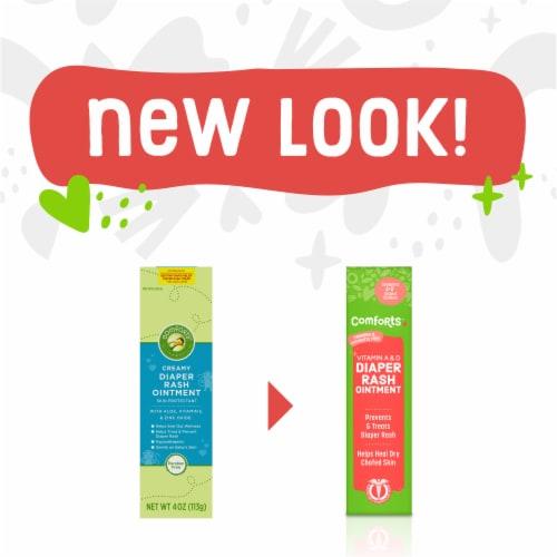 Comforts™ Vitamin A & D Diaper Rash Ointment Perspective: left