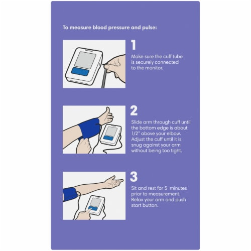 Kroger® Automatic Arm Blood Pressure Monitor Perspective: left