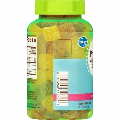 Kroger® Prenatal Multivitamin Gummies Perspective: left