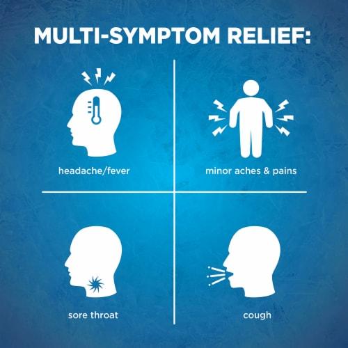 Kroger® Nighttime Cold & Flu Relief Liquid Perspective: left