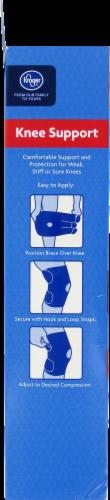 Kroger® Adjustable Knee Brace Perspective: left