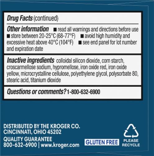 Kroger® Ibuprofen Tablets 200mg Perspective: left