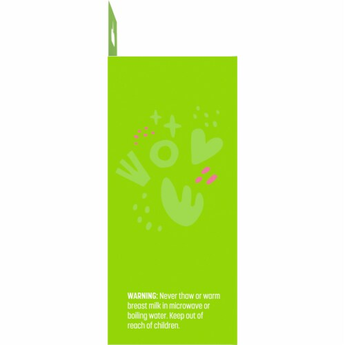 Comforts™ Breast Milk Storage Bags Perspective: left