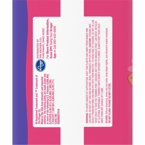 Comforts™ Day & Night 4T-5T Girls Training Pants Perspective: left