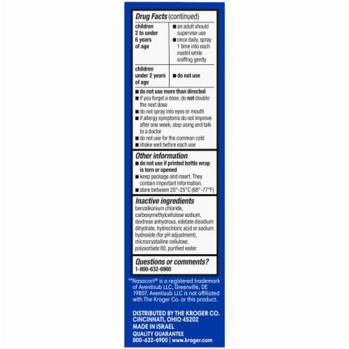 Kroger® 24 Hour Nasal Allergy Spray Perspective: left