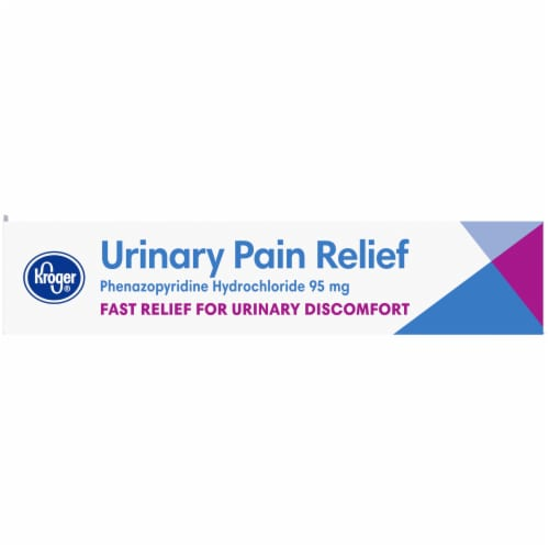 Kroger® Urinary Pain Relief Tablets 95mg 30 Count Perspective: left