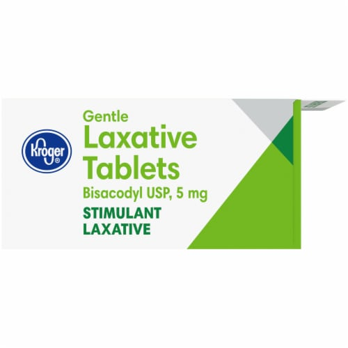 Kroger® Gentle Laxative Comfort Coated Tablets 5mg Perspective: left