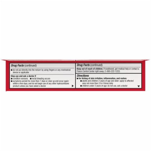 Kroger® Maximum Strength Hydrocortisone Anti-Itch Cream Perspective: left