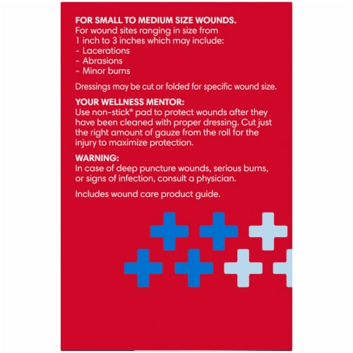 Kroger® 3 Step Wound Care Kit Perspective: left