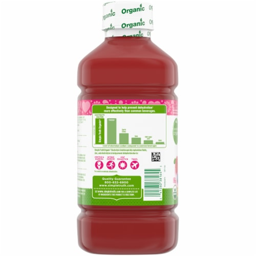 Simple Truth Organic™ Wild Berry Electrolyte Solution Perspective: left