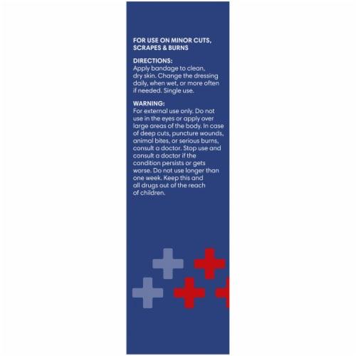 Kroger® Antibacterial Sterile Sheer Adhesive Pads Perspective: left