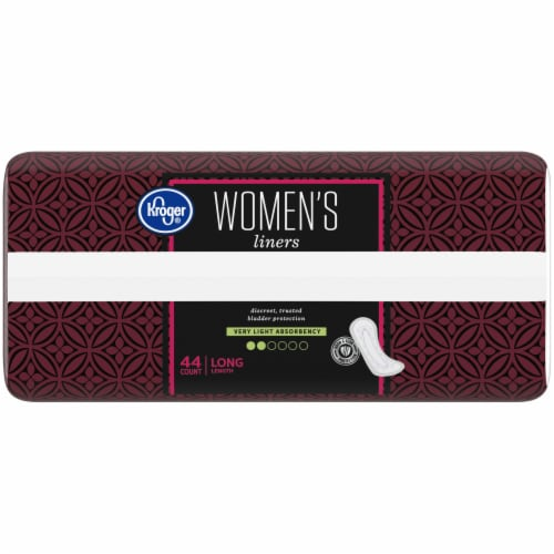 Kroger® Women's Very Light Long Liners 44 Count Perspective: left