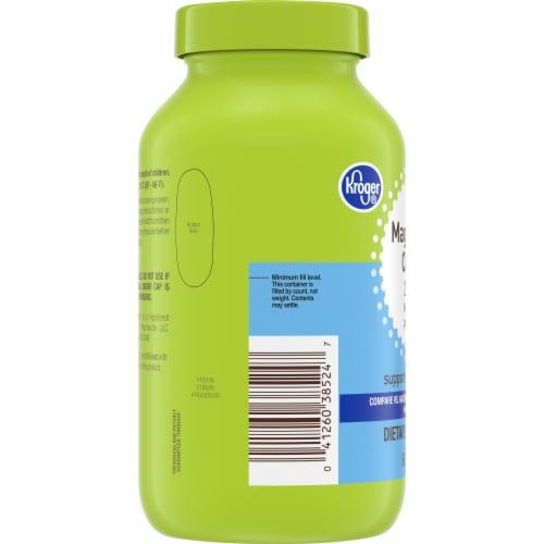 Kroger® Magnesium Citrate 250mg Softgels Perspective: left