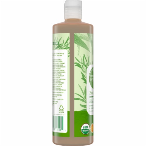 Simple Truth Organic® Tea Tree Eucalyptus Body Wash Perspective: left