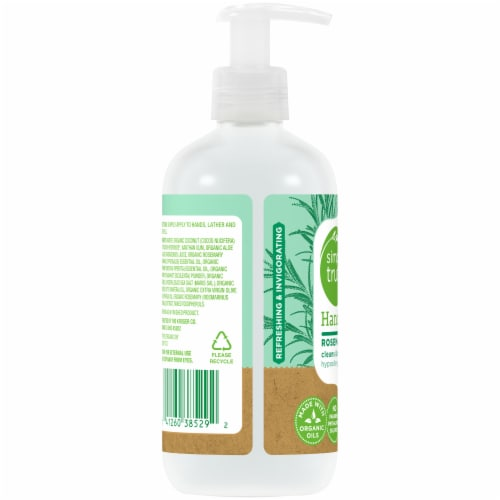 Simple Truth™ Rosemary Mint Hand Soap Pump Perspective: left