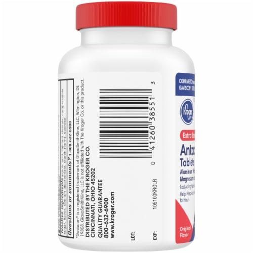 Kroger® Extra Strength Antacid Chewable Tablets Perspective: left