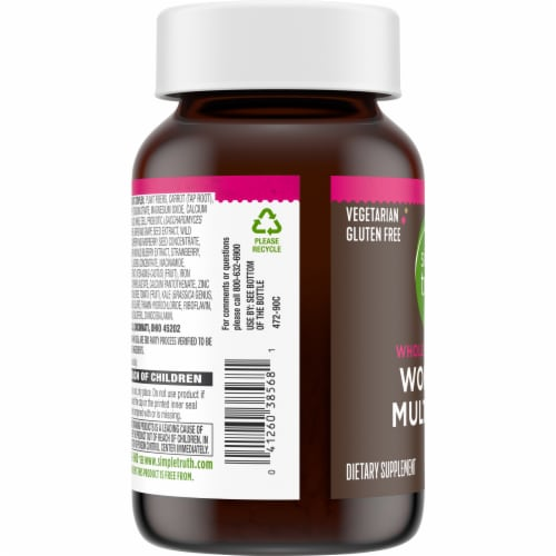 Simple Truth™ Women's Whole Food Based Multi Capsules Perspective: left