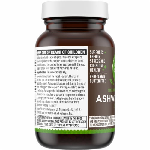 Simple Truth Organic™ Ashwagandha Tablets 500mg Perspective: left