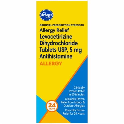 Kroger® Original Prescription Strength Allergy Relief Tablets Perspective: left