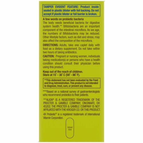 Kroger® 4X Probiotic® Digestive Care Caplets 10mg Perspective: left