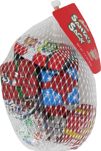 Palmer Santa's Sack Assorted Candy Perspective: left