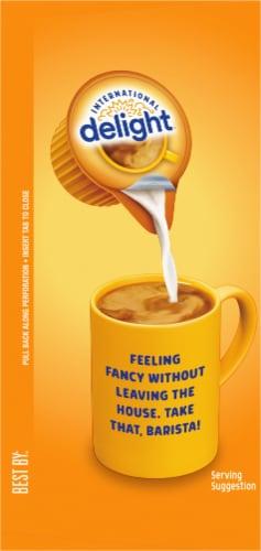 International Delight Caramel Macchiato Creamer Singles 24 Count Perspective: left