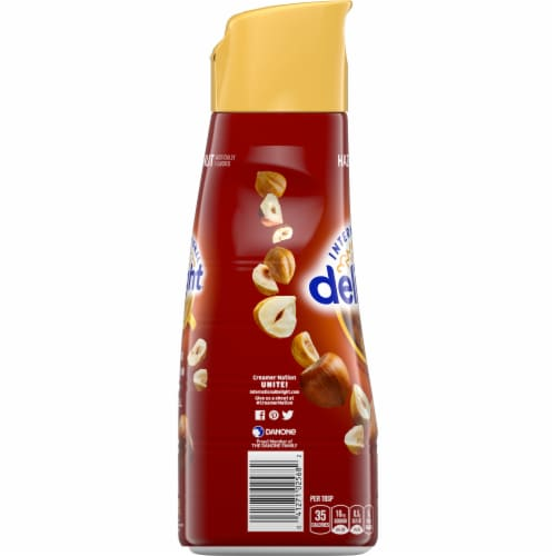 International Delight Hazelnut Coffee Creamer Perspective: left