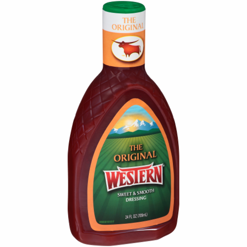 Western Original Sweet & Smooth French Dressing Perspective: left