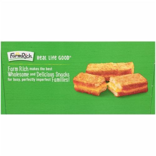 Farm Rich American Grilled Cheese Sticks Perspective: left