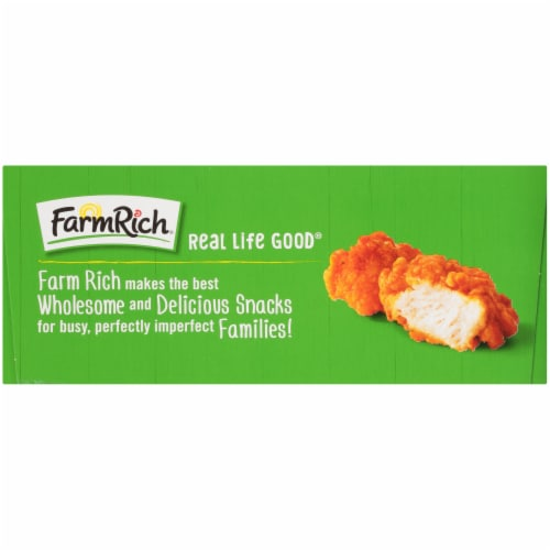 Farm Rich Buffalo Style Boneless Chicken Bites Perspective: left