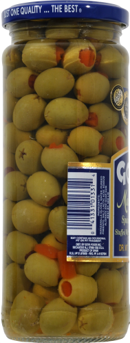 Goya Manzanilla Spanish Olives Perspective: left