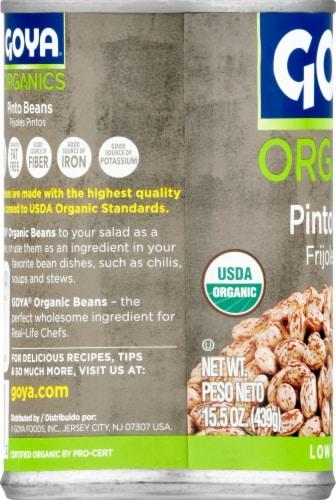 Goya Organics Pinto Beans Perspective: left
