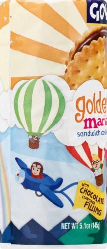 Goya Golden Maria Sandwich Cookies Perspective: left