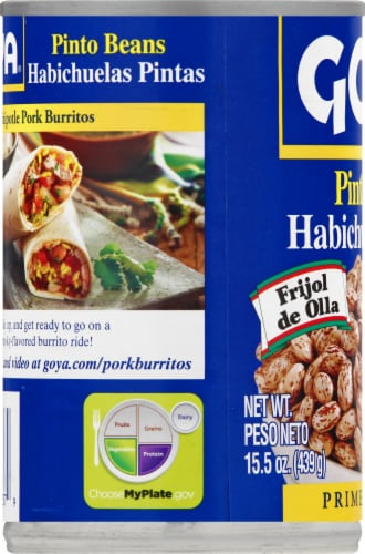 Goya Pinto Beans Perspective: left