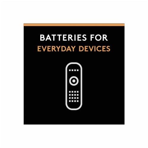 Duracell Coppertop AA Alkaline Batteries 4 Pack Perspective: left