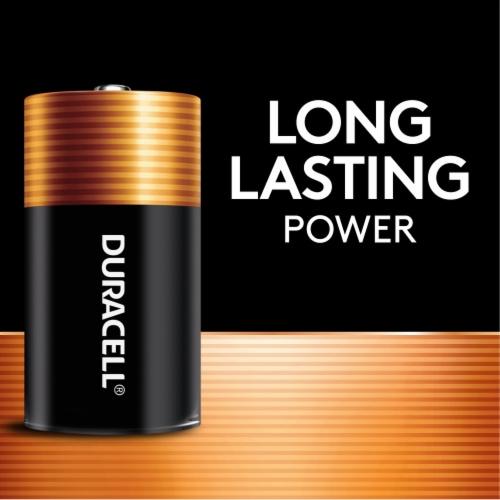 Duracell Coppertop C Alkaline Batteries Perspective: left