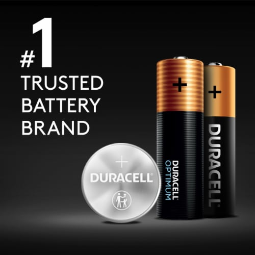 Duracell AA Alkaline Batteries Perspective: left