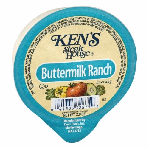 Ken's Steak House Buttermilk Ranch Dressing Perspective: left